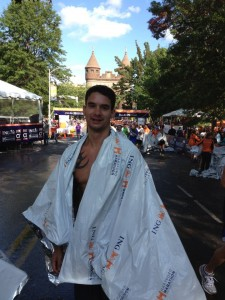 Matt Finishes Hartford Marathon