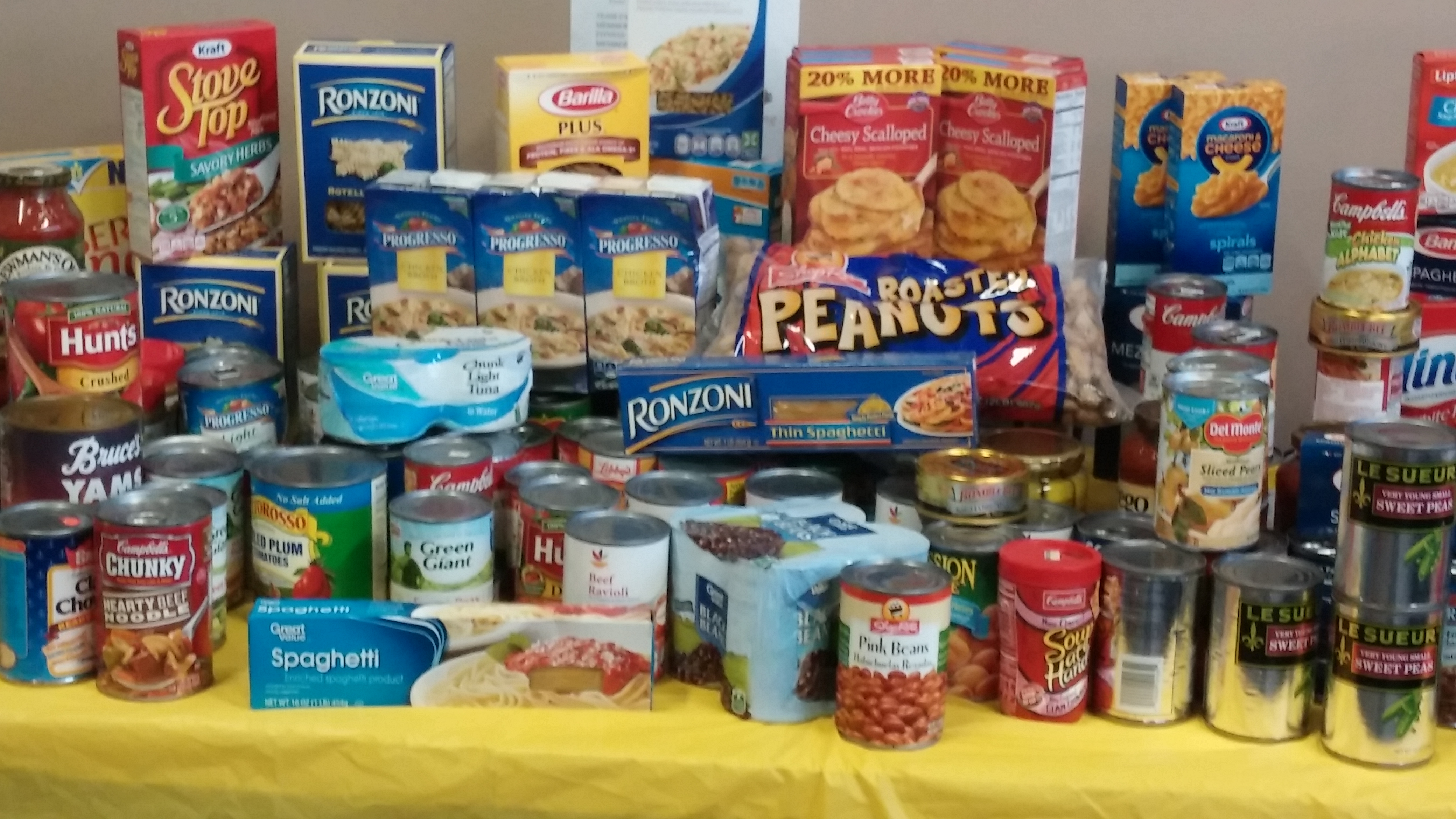 Bring in 5 Nonperishable Food Items, Join for $0 Down. Save $100!(1 year Membership)